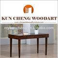 Vatar de diseño de muebles mesa de café/material de madera maciza de madera mesa de café