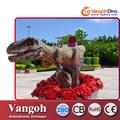 VDG723 Entretenimiento de los niños de tamaño natural t-rex rey de los dinosaurios