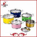10 pcs utensilios de cocina de acero inoxidable utensilios de cocina de color set