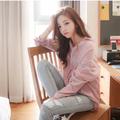 nuevo patrón de la moda para mujer camisas de cuadros