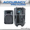plástico gabinete usb alto-falantes 180W amplificador exterior fabricados na China PMD15AUQ