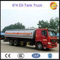 sino truk pesado capacidad del tanque de combustible de camiones/caliente aceite de camiones/aceite tanque de transporte de