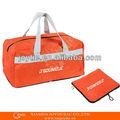Barato plegable de viaje bolsa de nylon; plegable bolsa de viaje