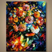 venta al por mayor imágenes pinturas de flores para sala de estar