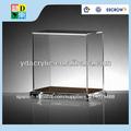 venta al por mayor de gran pantalla de acrílico transparente de la caja