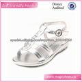 sandalias de cristal de plata niñas
