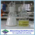 refinar aceite vegetal de arcilla blanca