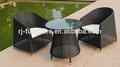 Polyrattan sofá de jardín al aire libre muebles de jardín conjunto/al aire libre juego de comedor