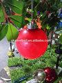 Navidad bola de cristal, de vidrio transparente bola de navidad adornos