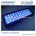 "24-60 ""55x3W, IT2060 LED Acuario Luz, Encuadre programable Período Fotos, lámparas led para acuarios marinos"