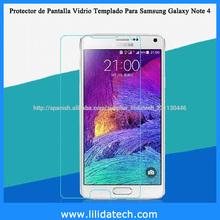 0.33 Láminas Protectoras Accesorios para Celulares Samsung Galaxy Note 4