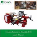 La máquina del torno de metal de la máquina de trabajo, de velocidad variable mini torno cnc de la máquina del torno