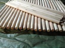 Mangos de madera naturales para escobas,palo de escoba naturales,escoba de madera natural a largo