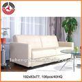 Cama única sofás/cama de cuero sofá de fijar el precio de mercado de china