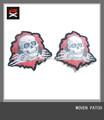 personalizado exquisito ropa parche de tejido rx87