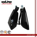 BJ-RM-029 retrovisor para moto custom Esportivo Universal - Preto