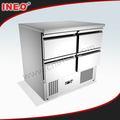 304 de acero inoxidable comerciales mini mini-refrigerador/nevera frigidaire/mini nevera con compresor