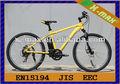 Nuevo estilo de montaña x-eb59 26'' 250w eléctrico sin escobillas de motor de la bicicleta