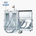 2014 unidad de succión dental portátil unidad de turbina dental portátil