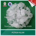 99.2% de aluminio sulfato de potasio/alumbre de potasio/de alumbre de potasa