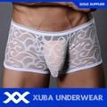 blanco ver a través de ropa interior para hombre boxer shorts para hombre ropa interior boxers