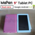 Pulgadas 9 comprimido venta caliente/pantalla táctil capacitiva de tablet/8gb flash ordenadores portátiles mini/atm7021a de
