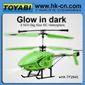 de gran tamaño helicóptero del rc de glowee toyabi