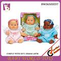 Caliente venta al por mayor reborn muñeca de juguete, muñecas de vinilo, de plástico bebé pequeño juguete de la muñeca