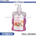 nouveau savon liquide sous étiquette privée