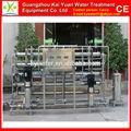 2000l/h acero inoxidable ro purificador de agua desionizada equipo