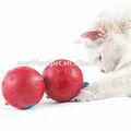 7.5cm,/amarillo rojo/azul bola de color, tratar de bolas sin ningún tipo de sonido, el mejor regalo de juguetes