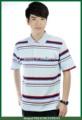 ropa de trabajo para hombre de polo de los hombres con el patrón de impresión