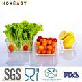 2013 caliente venta de vidrio de los envases de alimentos al por mayor