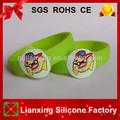Regalo promocional& personalizada pulsera de silicona para los niños