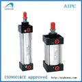 China, SC estándar de la serie de aluminio cilindro neumático, venta caliente precio al cilindro de aire, la serie de Airtac
