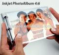De inyección de tinta de bricolaje de álbum de fotos, 4x6'' tamaño