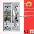 Interior de aluminio para puertas de vidrio SC-AAD018