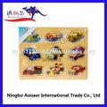 Pm316 puzzles/rompecabezas del vehículo, de madera rompecabezas educativos bebé juegos, juguetes para los niños