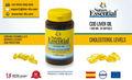 Aceite de hígado de bacalao 1000mg 30 Perlas de gelatina - Suplemento alimenticio