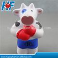 mousse pu stress balle antistress de lait de vache en forme