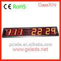 Ganxin Hangzhou pulgadas segmento de dígitos 7 4 7 llevó la exhibición de ali baba. Com