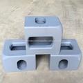 ISO 1161 esquina recipiente de colada apropiado