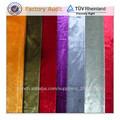 Color brillante y el estilo llano tela de la cortina brillante