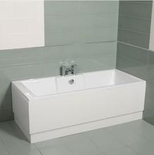 moderno 1500 blanco acrílico recta la tina de baño