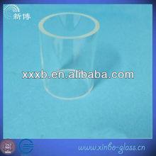 transparencia cilindro de cuarzo