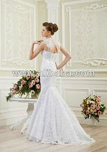 mejor calidad europea sirena de vestidos de novia de encaje 2014
