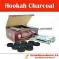 pastillas de carbón vegetal al por mayor, fabricante pipa china, coco narguile shisha / cachimba carbón