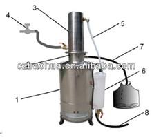 eléctricos de laboratorio destilador de agua