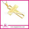 Jóias pingente de cruz de ouro da forma quente da venda