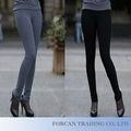 Todo partido de diseño por mayor pantalones de vestir dama talla M-3XL otoño nueva moda mujeres polainas BS05001